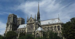 Notre Dame cathedral feature