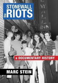Stonewall Riots Marc Stein cover
