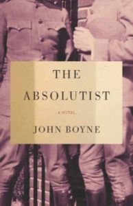 The Absolutist by John Boyne cover