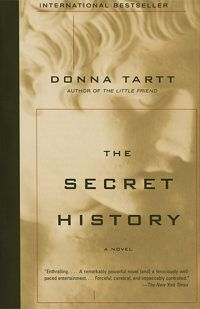 The Secret History by Donna Tartt cover