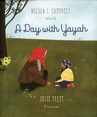 Cover of A Day with Yayah by Campbell