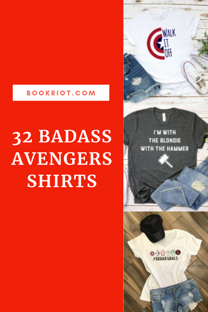 Prepare for Endgame and more with these Avengers Shirts. comics | comics shirts | Avengers shirts | Shirts for comics fans | Avengers Endgame