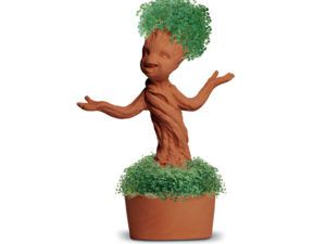 baby groot potted chia pet
