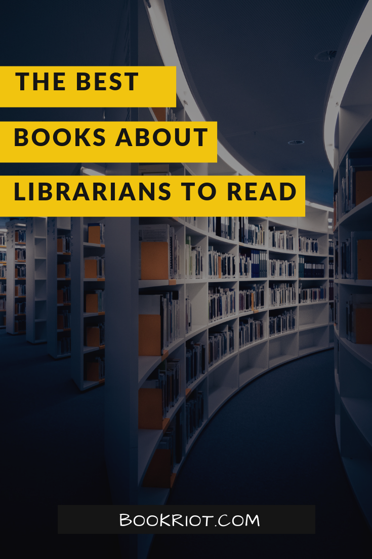 Dig into these fabulous books about the wonderful folks who call themselves librarians. book lists | books about librarians | books about libraries | best books about librarians