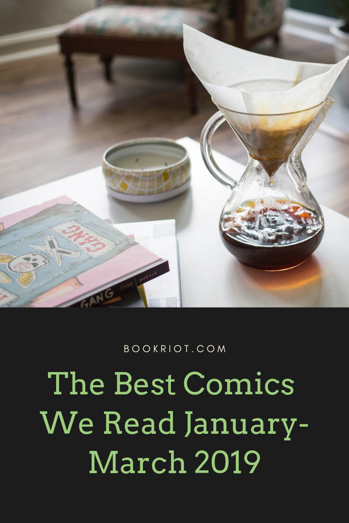 Need a great comic? Check out the best comics we read in the first quarter of 2019. comics | best comics | great comics to read | what to read in comics