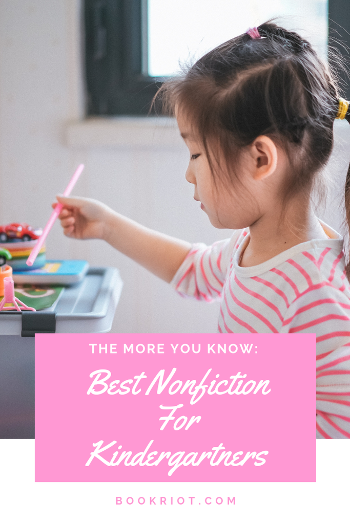 Give your kindergartners a leg up with the best nonfiction. book lists | books for kindergartners | best nonfiction for kindergartners | books for kindergartners | children's books | children's nonfiction