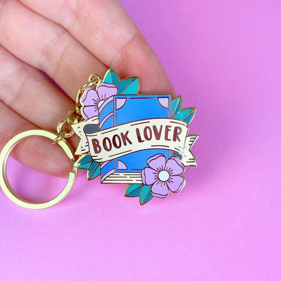 Literary Keychains For Broadcasting Your Love of All Things Books