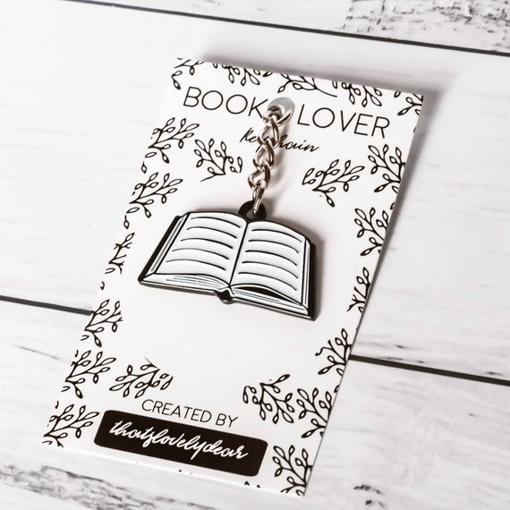 Literary Keychains For Broadcasting Your Love of All Things