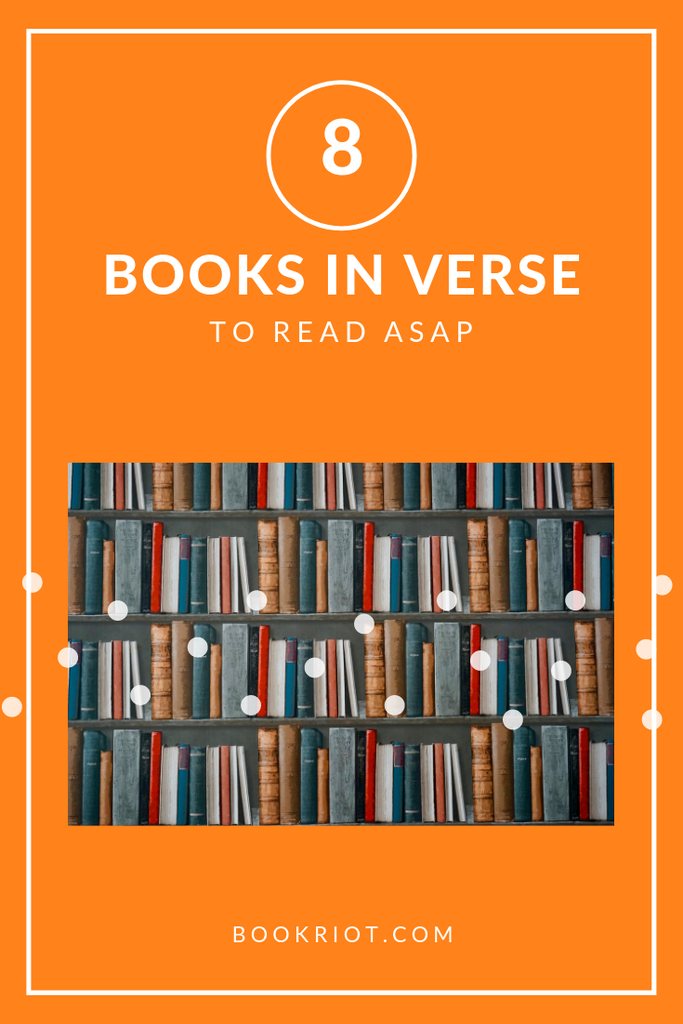 Pick up these books in verse in honor of National Poetry Month and in honor of great reading. book lists | verse books | books in verse | nonfiction books | fiction books | poetry