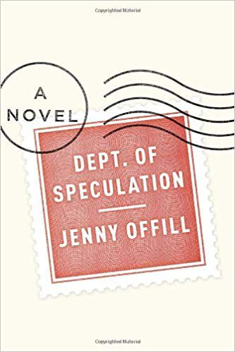 Cover of Dept. of Speculation by Jenny Offill