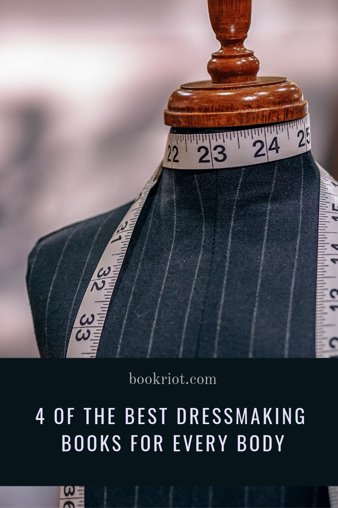 These great dressmaking books make creating clothes possible for every body shape and size. sewing | craft books | book lists | sewing books | dressmaking | dressmaking books