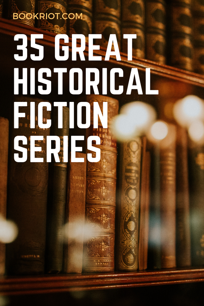 Love historical fiction? You'll want to check out these 35 awesome historical fiction series. book lists | historical fiction | historical fiction series | historical fiction book lists