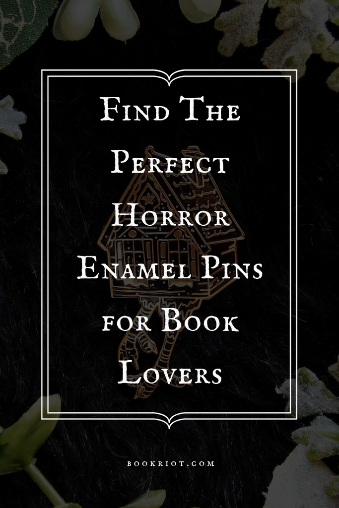 The perfect horror enamel pins for book lovers and pop culture enthusiasts who love all things creepy and spooky. horror | horror books | horror novels | enamel pins | horror enamel pins | enamel pins for horror lovers | scary enamel pins | creepy enamel pins | stephen king | stephen king enamel pins