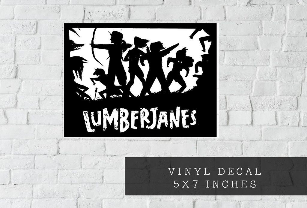 Lumberjanes Vinyl Decal