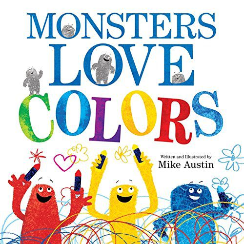 Monsters Love Colors book cover
