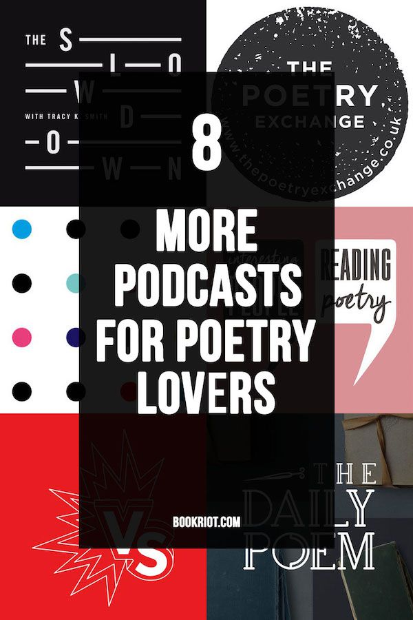 8 More of the Best Poetry Podcasts