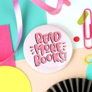 Read More Books Compact Mirror