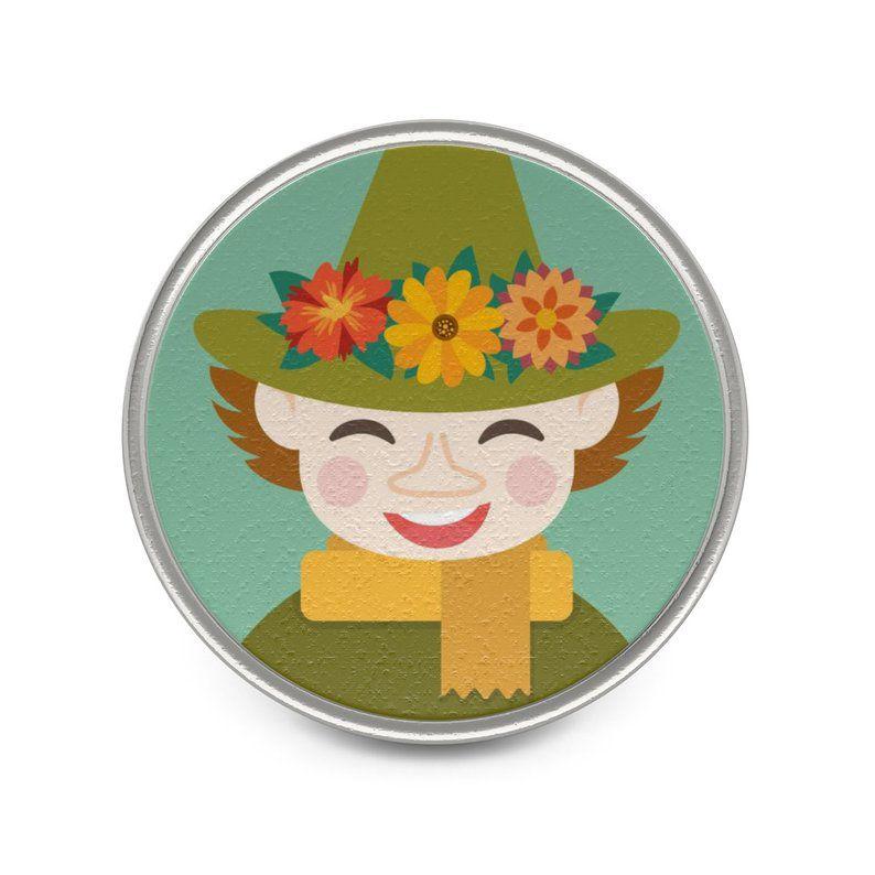 Snuffkin pin
