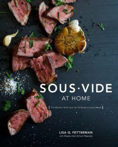 sous vide at home cookbook