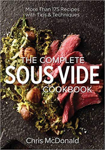 the complete sous vide cookbook cover