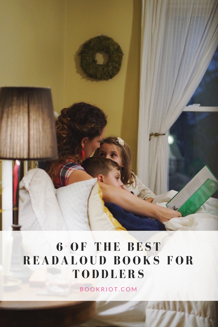 Reading aloud to toddlers is important. Here are some reasons why, along with six great books to try. book lists | reading aloud | parenting | books for children | books for toddlers | toddler read aloud books
