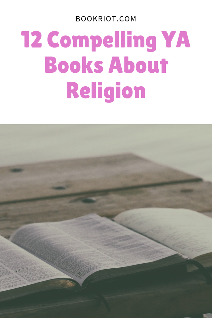 Read some excellent and compelling YA books about religion of all sorts. book lists | religion | faith in YA books | religion in YA books | young adult books | YA Lit | #YALit