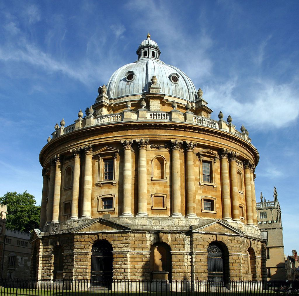 The Radcliffe Camera by Tom Murphy VII