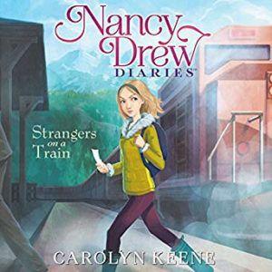 Nancy Drew. Audiobook cover