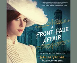 A Front Page Affair audiobook cover image