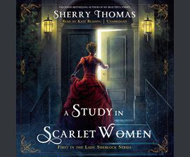 A Study in Scarlet Women audiobook cover image
