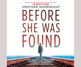 Before She Was Found audiobook cover image