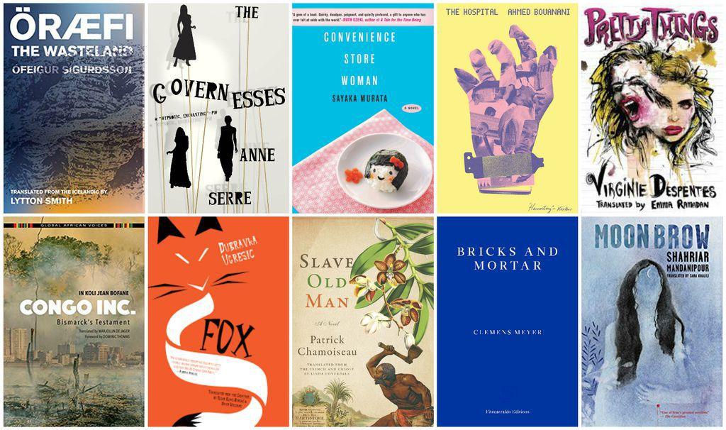 Best Translated Book Award Shortlist Fiction