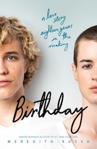 Birthday by Meredith Russo cover image