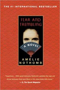 Fear and Trembling by Amélie Nothomb book cover