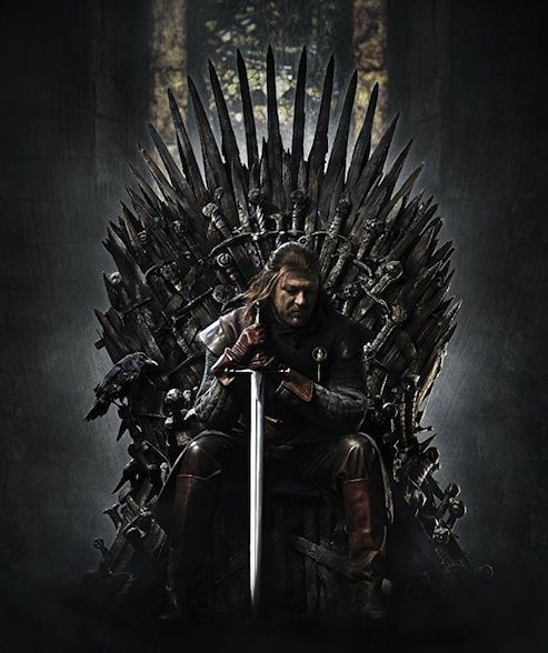 Sean Bean as Ned Stark, aka Richard of York. Image from IMDb.
