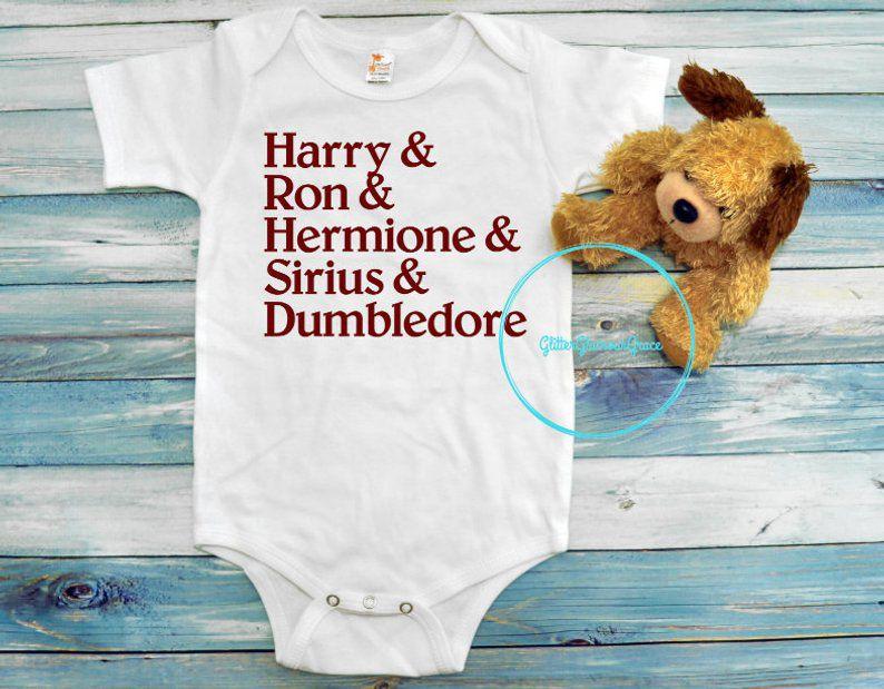 Harry Potter Character Bodysuit