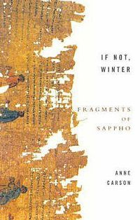 If Not, Winter Sappho cover in Best Poetry Books