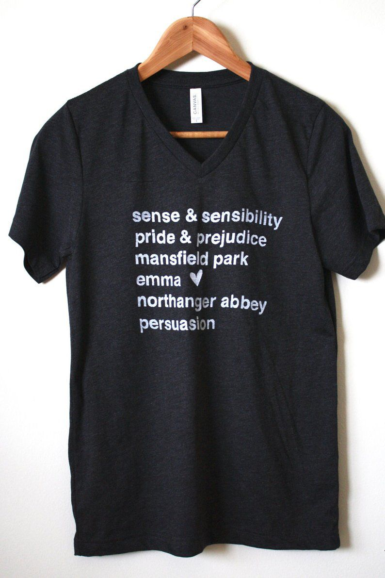 Jane Austen novels shirt