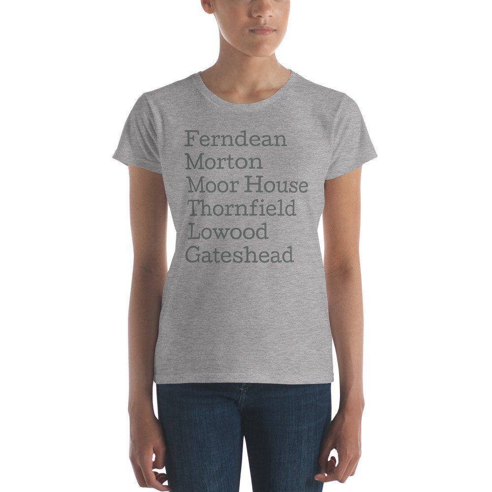 Jane Eyre Locations shirt