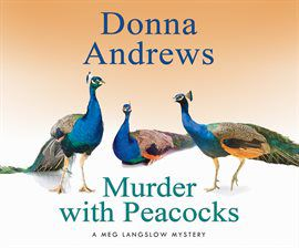 Murder with Peacocks audiobook cover image
