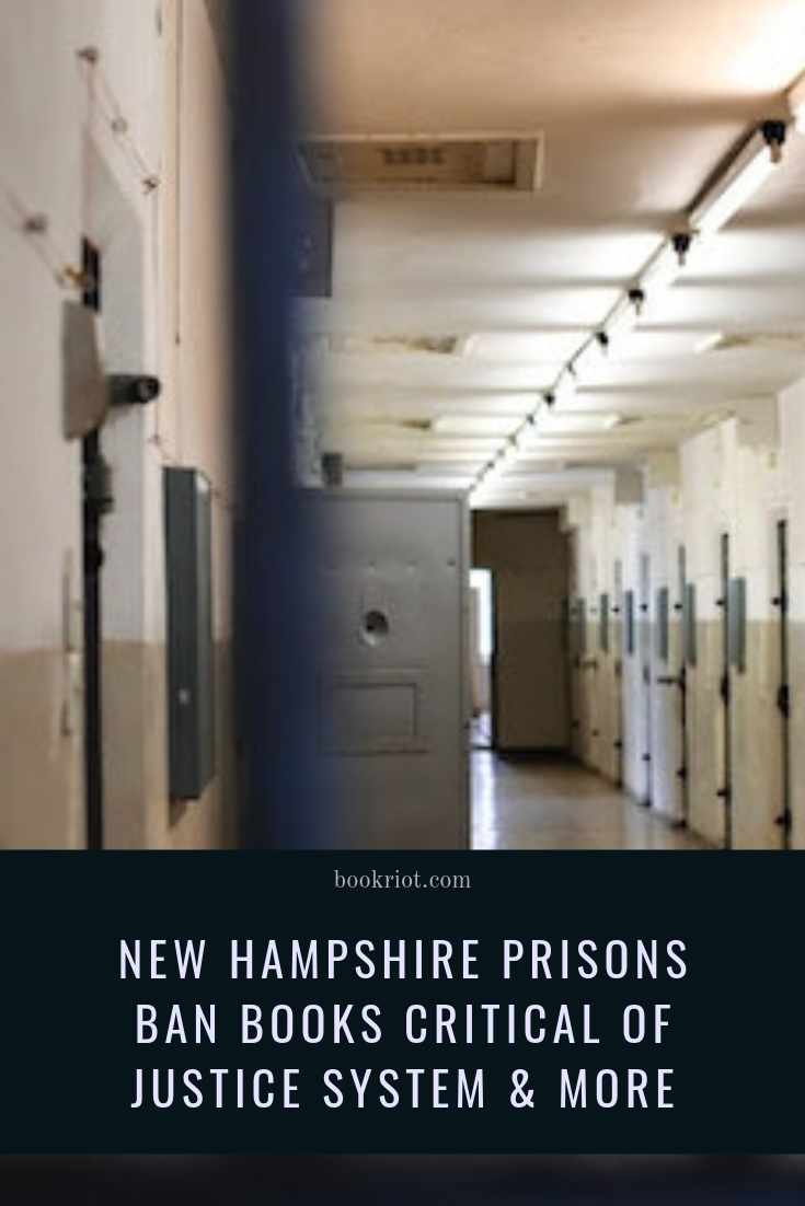 THE LOVELY BONES and a wealth of books about the criminal justice system are among the books banned by New Hampshire prisons. New Hampshire joins the ranks of other states limiting access to knowledge and education to those who are incarcerated. prison justice | criminal justice | books to prisoners | books to incarcerated people