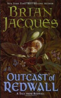 Outcast of Redwall by Brian Jacques cover