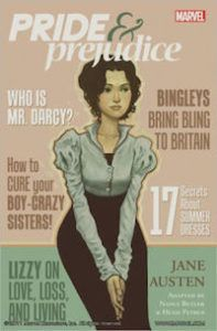 Pride and Prejudice comic series