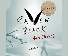 Raven Black audiobook cover