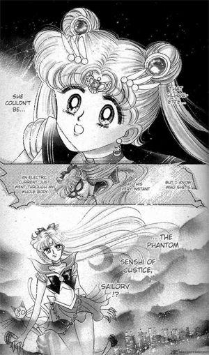Manga: Sailor Moon meets Sailor V