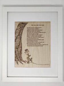 Shel Silverstein poem artwork