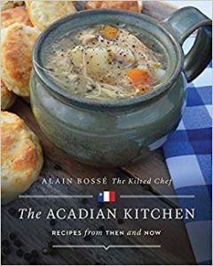 cover of The Acadian Kitchen by Alain Bosse