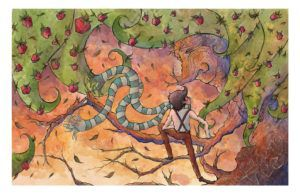 The Giving Tree inspired painting