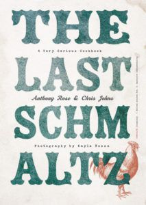 cover of The Last Schmaltz by Anthony Rose and Chris Johns