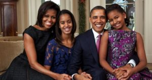 The Obama Family official portrait